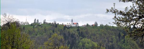 Pogled na Janče - Sadno cesto