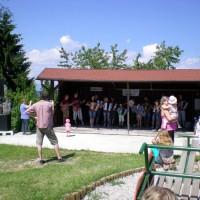 Nastop šole diatonične harmonike Bučar na Jagodni nedelji 2014