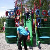 Otroška radost na igralih Jagodožer