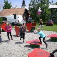 Otroško veselje na Jagodni nedelji 2014