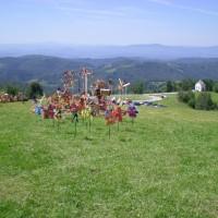 Razgled iz Janč na Ljubljansko kotlino
