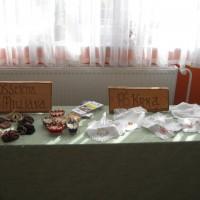 Razstava prtičkov v osnovni šoli Janče